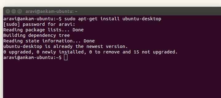 Take RDP of your ubuntu from windows Machine using xrdp