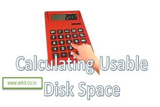 Calculating Usable Disk Space Raw Disk Space And Usable