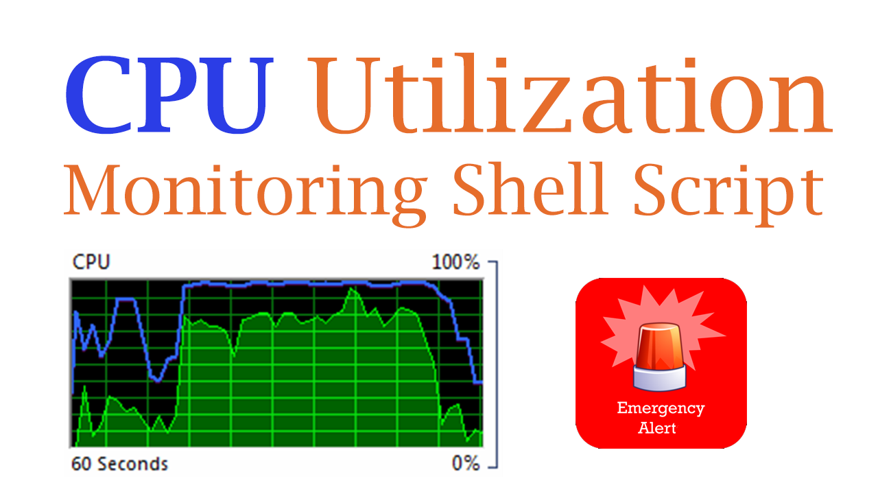 Monitor Your CPU Utilization using Shell Script - ARKIT