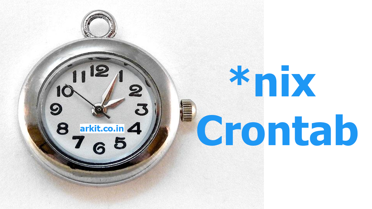 what is crontab and how to use crontab in Linux / Unix