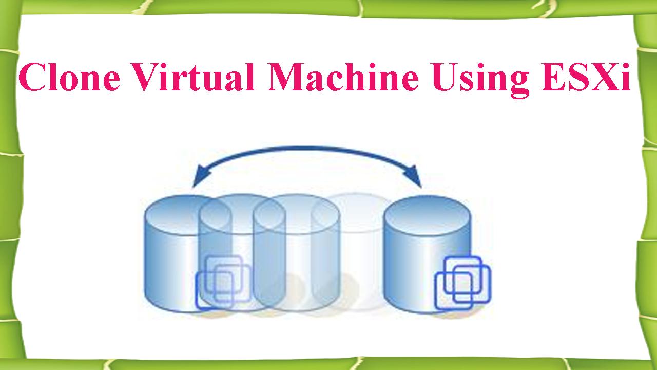 clone vmware machine