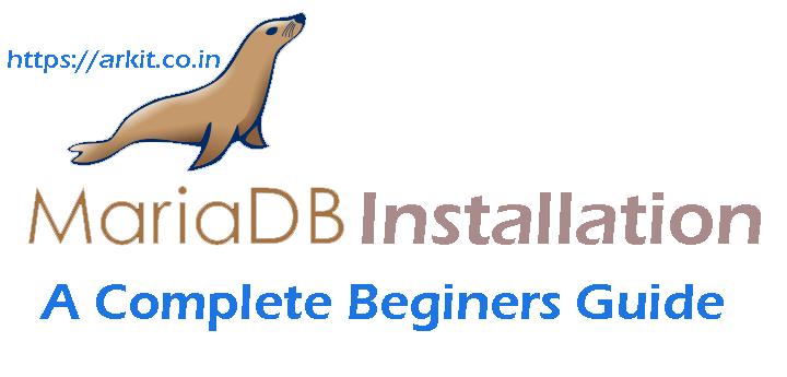 Install MariaDB 10 2 RHEL 7 / Centos 7 beginers guide