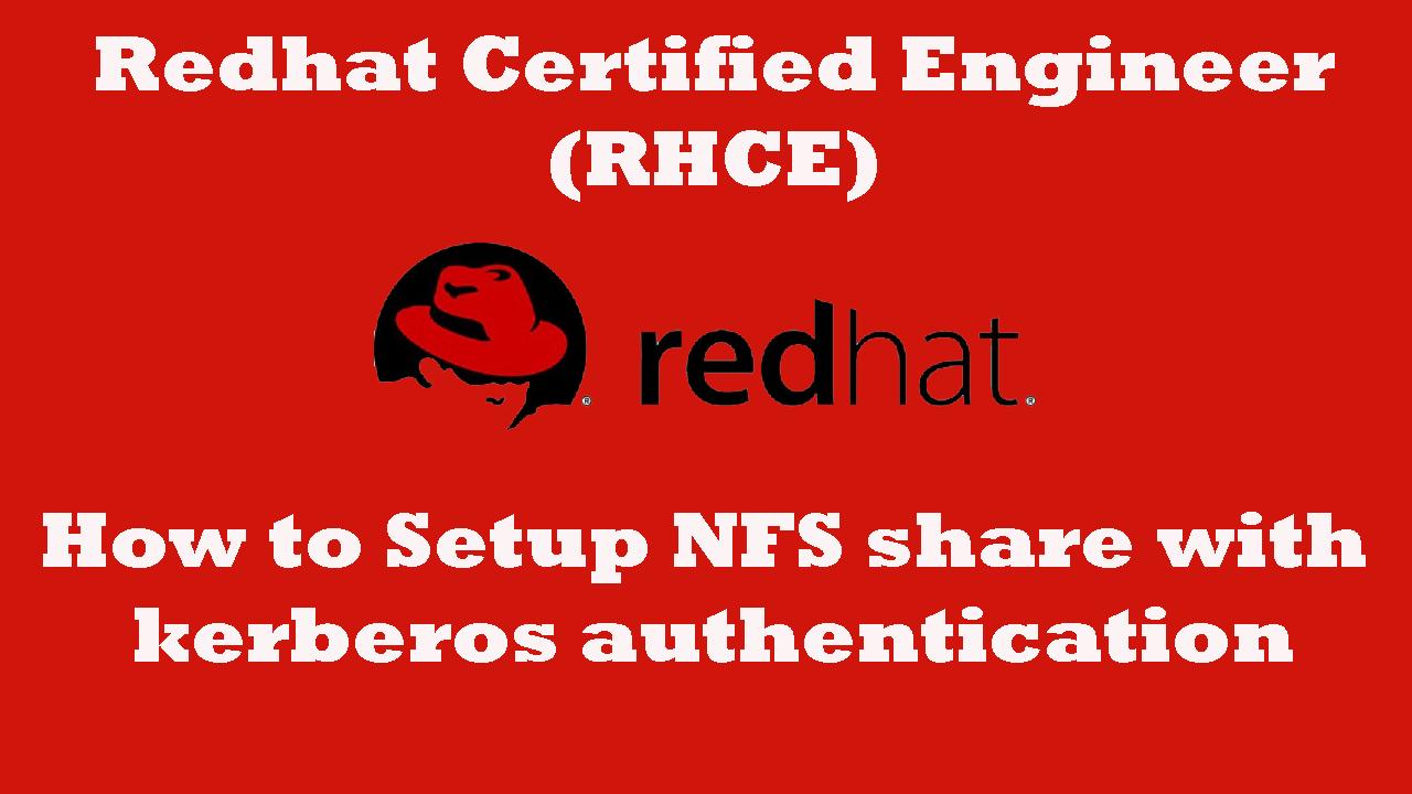 kerberized NFS Server Linux Simple way to setup - ARKIT