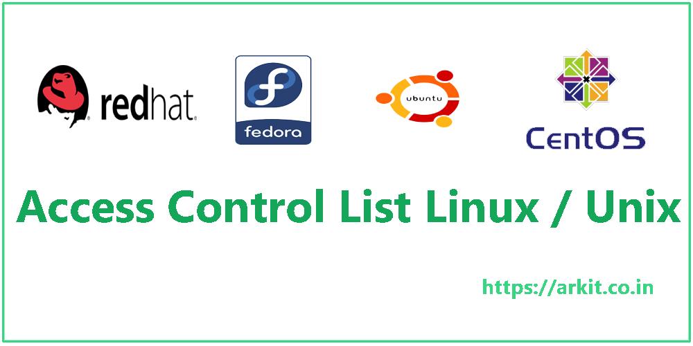 POSIX Access Control List ACL Linux / Unix