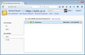 ReviewBoard installation Complete Guide Ubuntu OS - ARKIT