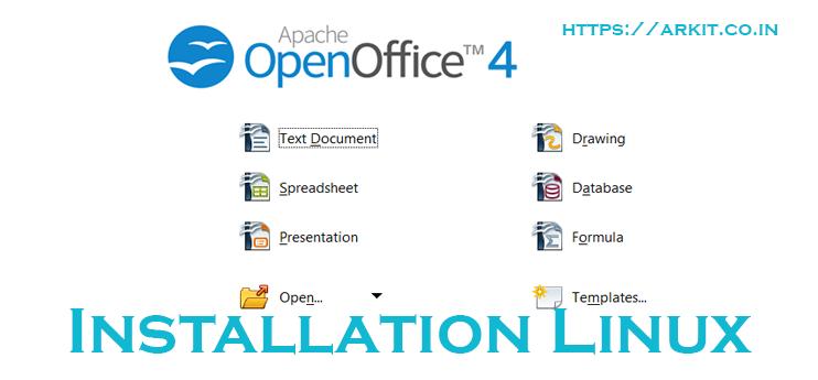 HowTo Install Apache OpenOffice4 Linux RHEL 7/Centos 7 - ARKIT
