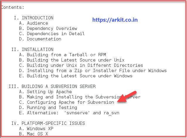 SubVersion Server Setup Linux Version Control Software