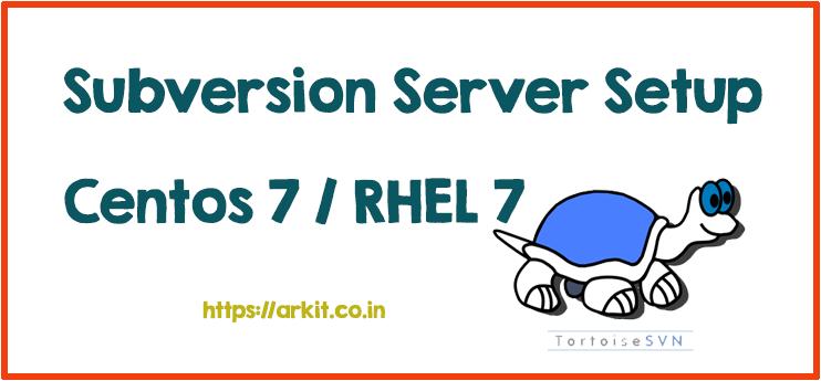 SubVersion Server Setup Linux Version Control Software TortoiseSVN