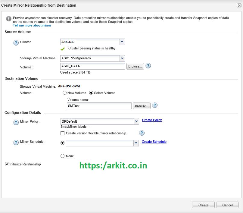 Snapmirror Setup From Scratch NetApp Cluster Mode